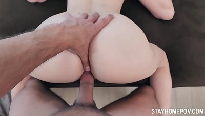 Some oral and doggy sex will be great for superb hottie Kenna James
