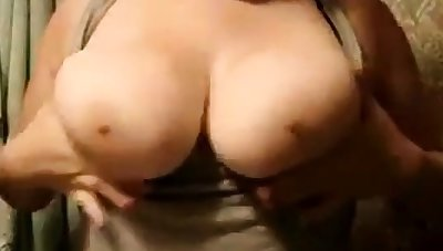 Chubby girlfriend big boobs